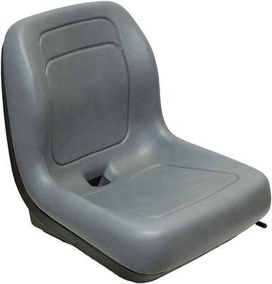 Ford New Holland Skid Steer Seat Gray Fits Lx465 Lx485 Lx565 Lx665 Lx865 Ql