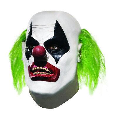 Batman Arkham City Henchman Scary Clown Adult Mask - Halloween City Clown Masks