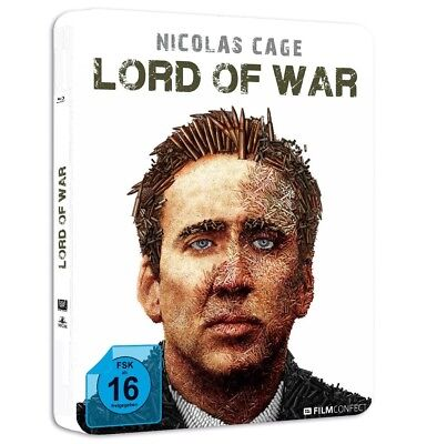 LORD OF WAR (METALPACK ARTWORK1)-CAGE,NICOLAS MOTIV PATRONEN/LTD EDIT BR NEW