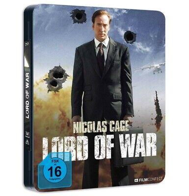 LORD OF WAR (METALPACK) -CAGE,NICOLAS MOTIV KINOPLAKAT/LIMITED EDI  BLURAY NEW