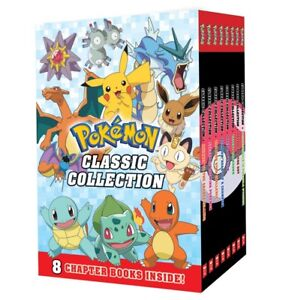 NEW  Pokemon Classic Collection 8 book set