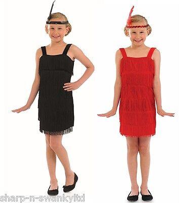 Mädchen Schwarz Rot Flapper 1920er Jahre Great Gatsby - Great Gatsby Kostüm Mädchen