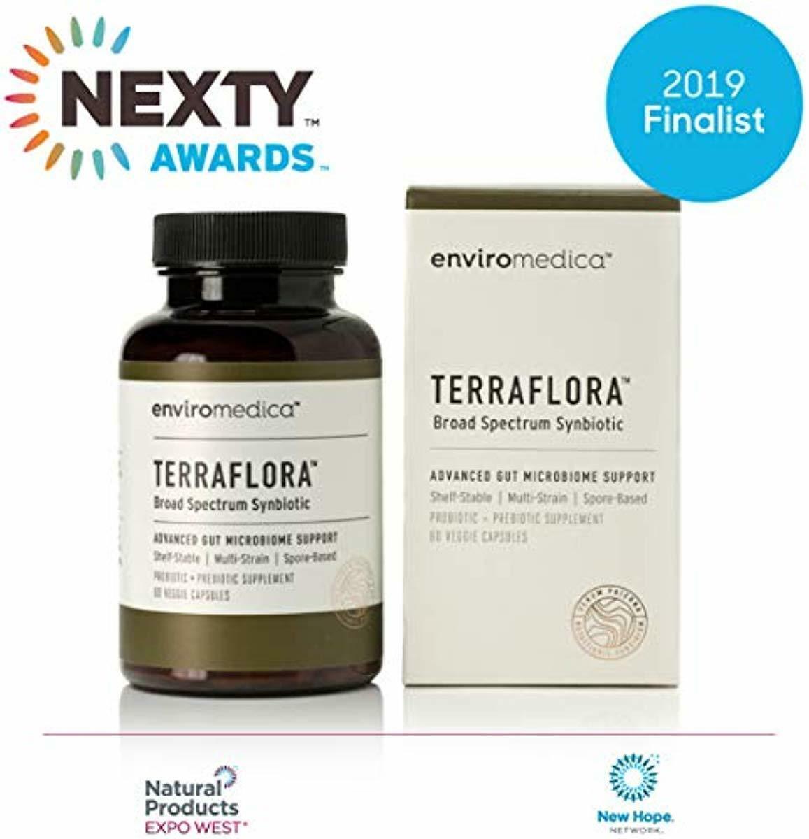 Enviromedica Terraflora SBO Probiotic + Prebiotic Supplement