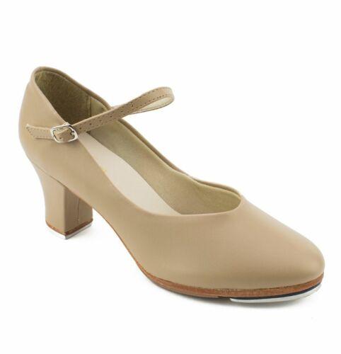 """Tan 1.5"""" Heel Tap Shoe - So Danca TA55"""