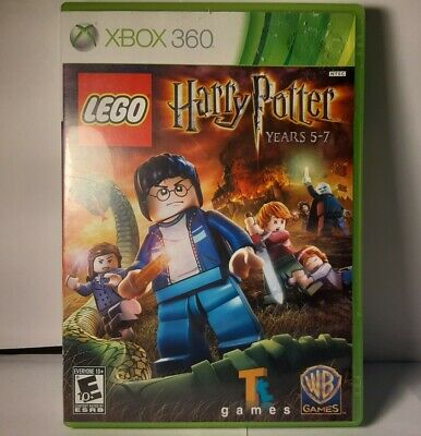 Lego Harry Potter: Years 5-7 (Xbox 360, 2011) Game~W/ Original Case and Manual
