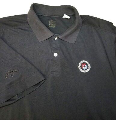 Oakland Hills Country Club (Callaway C Tech Oakland Hills Country Club S/S Polo Shirt Black Large)