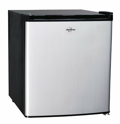 Koolatron KCR40B AC/DC Hybrid Heat Pipe Thermoelectric 1.7 cu ft Refrigerator