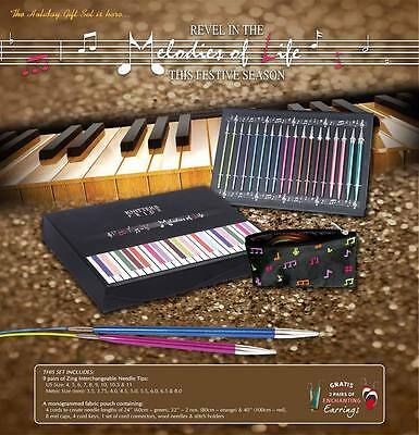 "Knitter's Pride Melodies Of Life ""Zing"" Interchangeable Needle Set 400001"