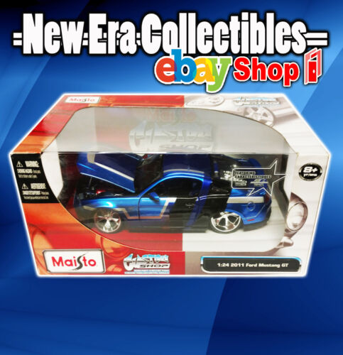 Custom Shop Diecast Collection - 1:24 Scale - 2011 Ford Mustang GT - Maisto 2011