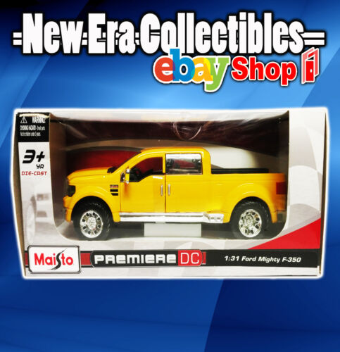 Maisto - 1:31 Scale Die-Cast - Ford Mighty F-350 - Premiere DC - 2013
