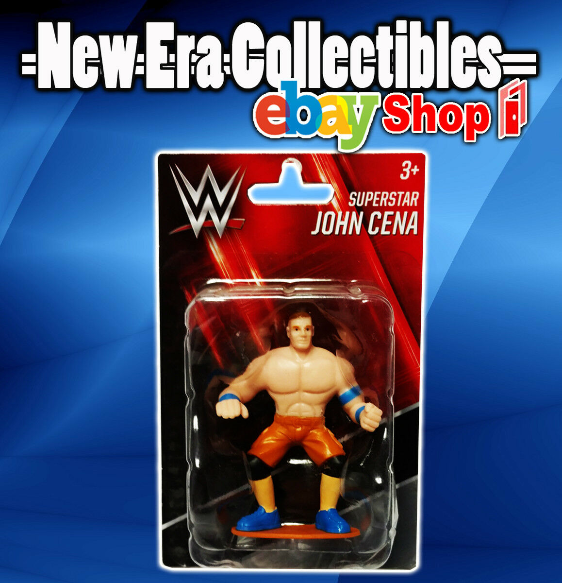 WWE Superstar Figurine UNDERTAKER Mini Figurine ~ Beverly Hills Teddy Bear 2017