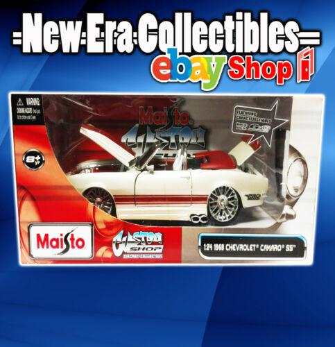Custom Shop Diecast Collection 1:24 Scale - 1968 Chevrolet Camaro SS Maisto 2011