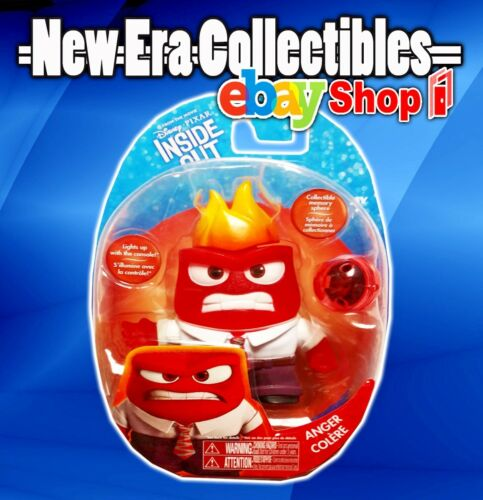 "Disney - Pixar - Inside Out - Anger - 2"" Inch - Action Figure - Tomy"