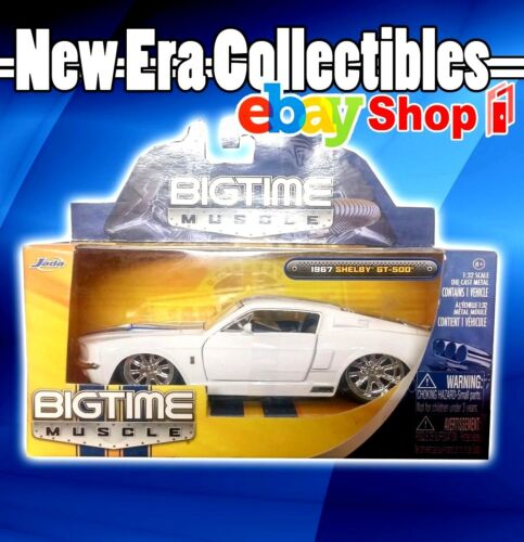 1967 Shelby GT-500 - Bigtime Muscle - 1:32 Scale - Die-Cast - Jada Toys - 2010