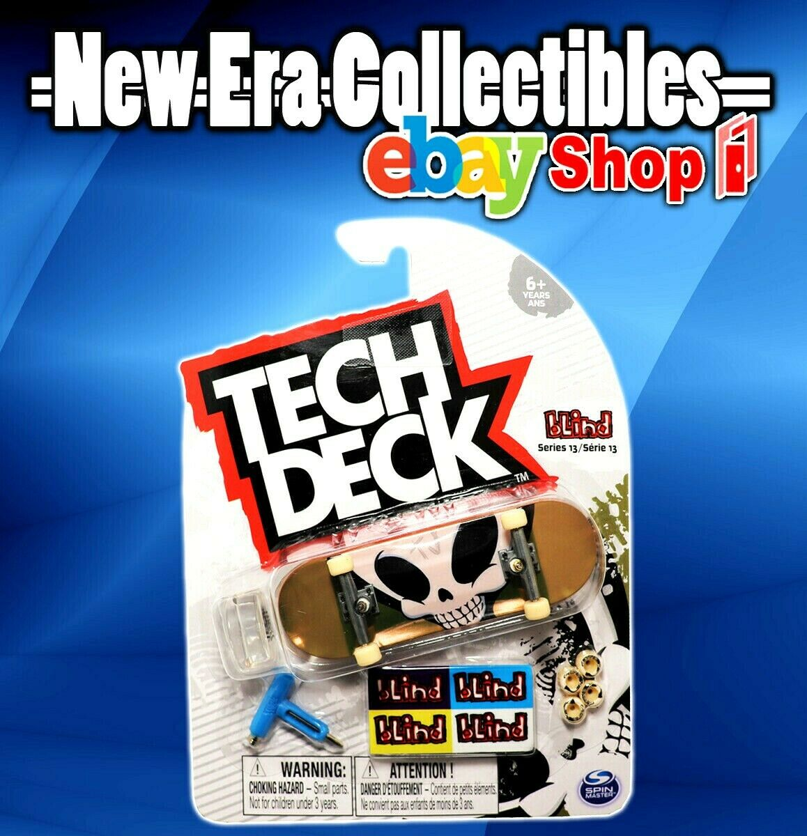 Tech Deck Series 13 Blind Skateboards Fingerboard 96mm Spin Master 778988191323 Ebay