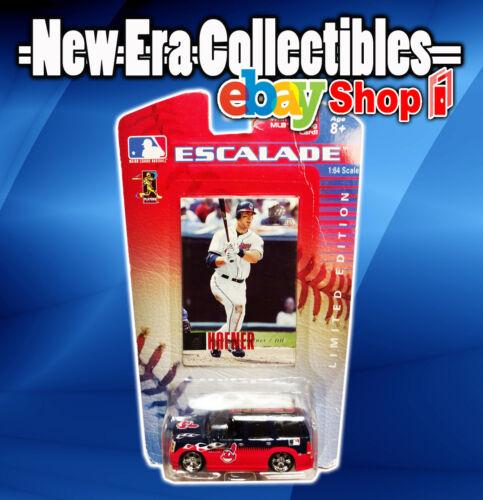 MLB  Cadillac Escalade - 1:64 Scale Upper Deck - Travis Hafner Cleveland Indians