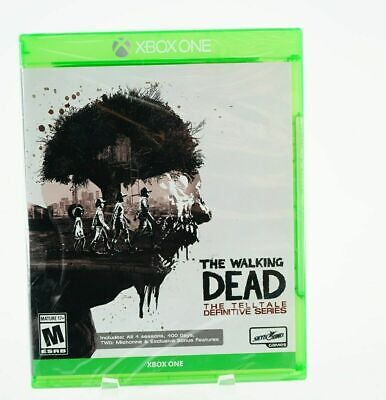 The Walking Dead The Telltale Definitive Series Extra Bonus Features: Xbox One