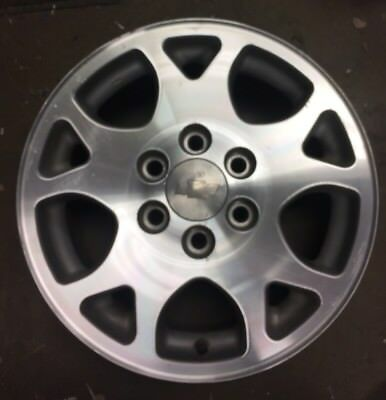 "2001-2006 CHEVY Tahoe Suburban Factory Polished Alloy Wheel 17"" Rim 5117 OEM"