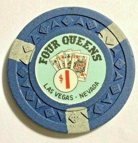 -VINTAGE-**Four Queens**$1 Chip Las Vegas 1965