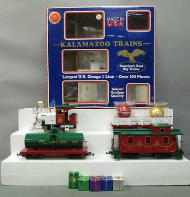 Kalamazoo 19090 G Scale 1990 Christmas Train Set - No Track/Trans/Box