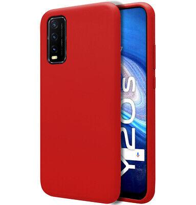Cover Silicone Liquido Ultra Morbida Per Vivo Y20s/Y11s Colore Rossa