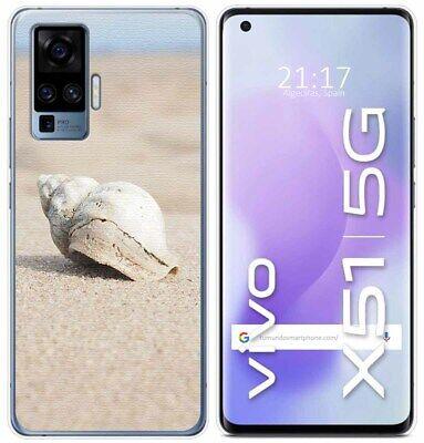 Cover Gel TPU Per Vivo X51 5G Disegno Conchiglia Disegni