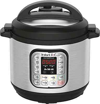 New 8 Quart, 1200 Watts 7-in-1 Programmable Electric Pressure Instant Pot Cooker