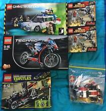 LEGO MODELS GHOSTBUSTERS, TECHNIC, TMNT, MARVEL AND MORE Colyton Penrith Area Preview