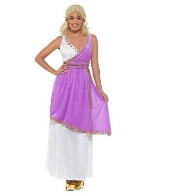 Adult Grecian Goddess Olympic Ancient  Greece Fancy Dress Costume