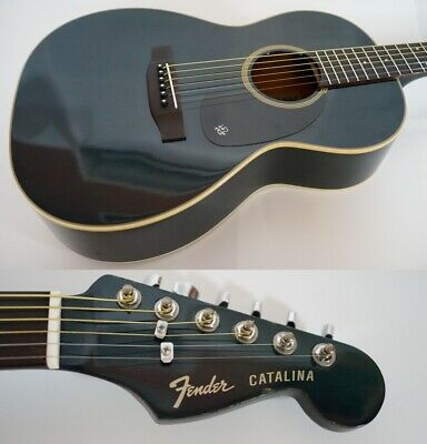 Fender Acoustic CATALINA Hanako YC-38H BLUE Made in Japan 80's