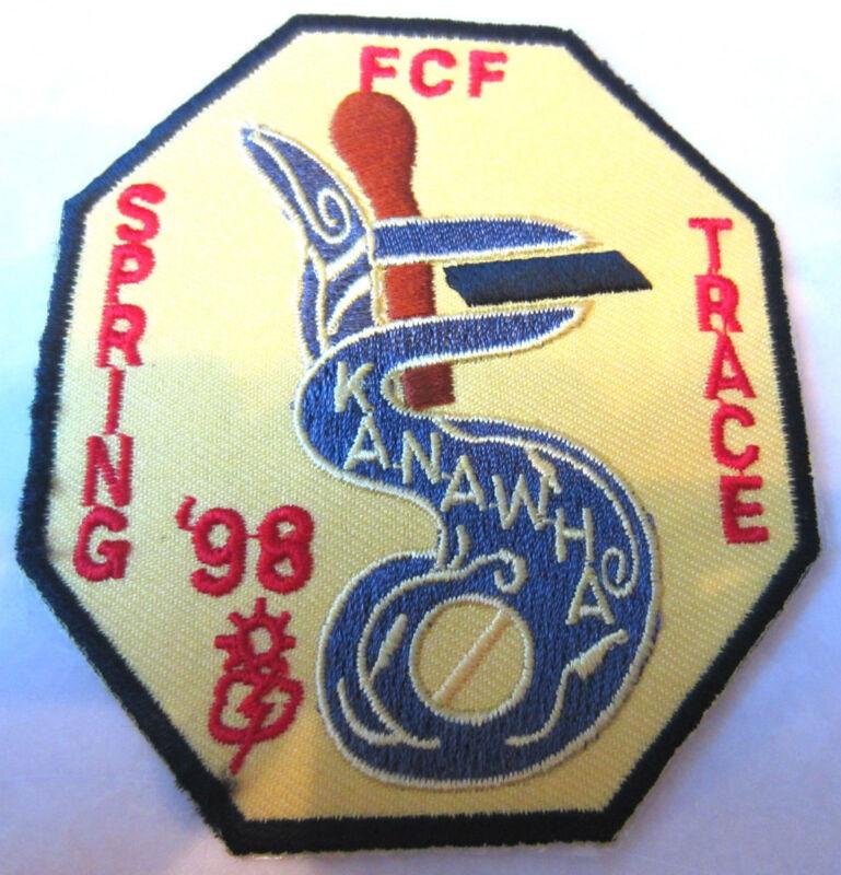 1998 Fcf Spring Trace Kanawha Rr Royal Ranger Uniform Patch
