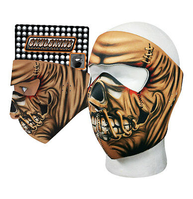 Creepy Scary Scarecrow Capsmith Full Face Neoprene Mask Biker Ski Costume](Scarecrow Face)