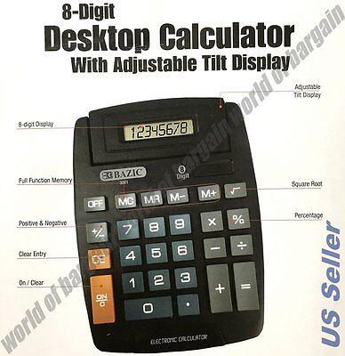 Large Desktop Calculator - 8-digit