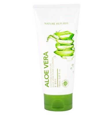[NATURE REPUBLIC] New Soothing & Moisture Aloe Vera Foam Cleanser 150ml