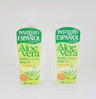 Instituto Español - ALOE VERA Aceite Corporal / Body Oil 2x 400ml