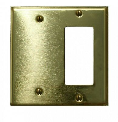 - Switchplate Solid Brass GFI Blank | Renovator's Supply
