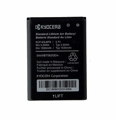 OEM Kyocera Standard Replacement Battery DuraXV E4520 DuraXA E4510 - SCP-63LBPS