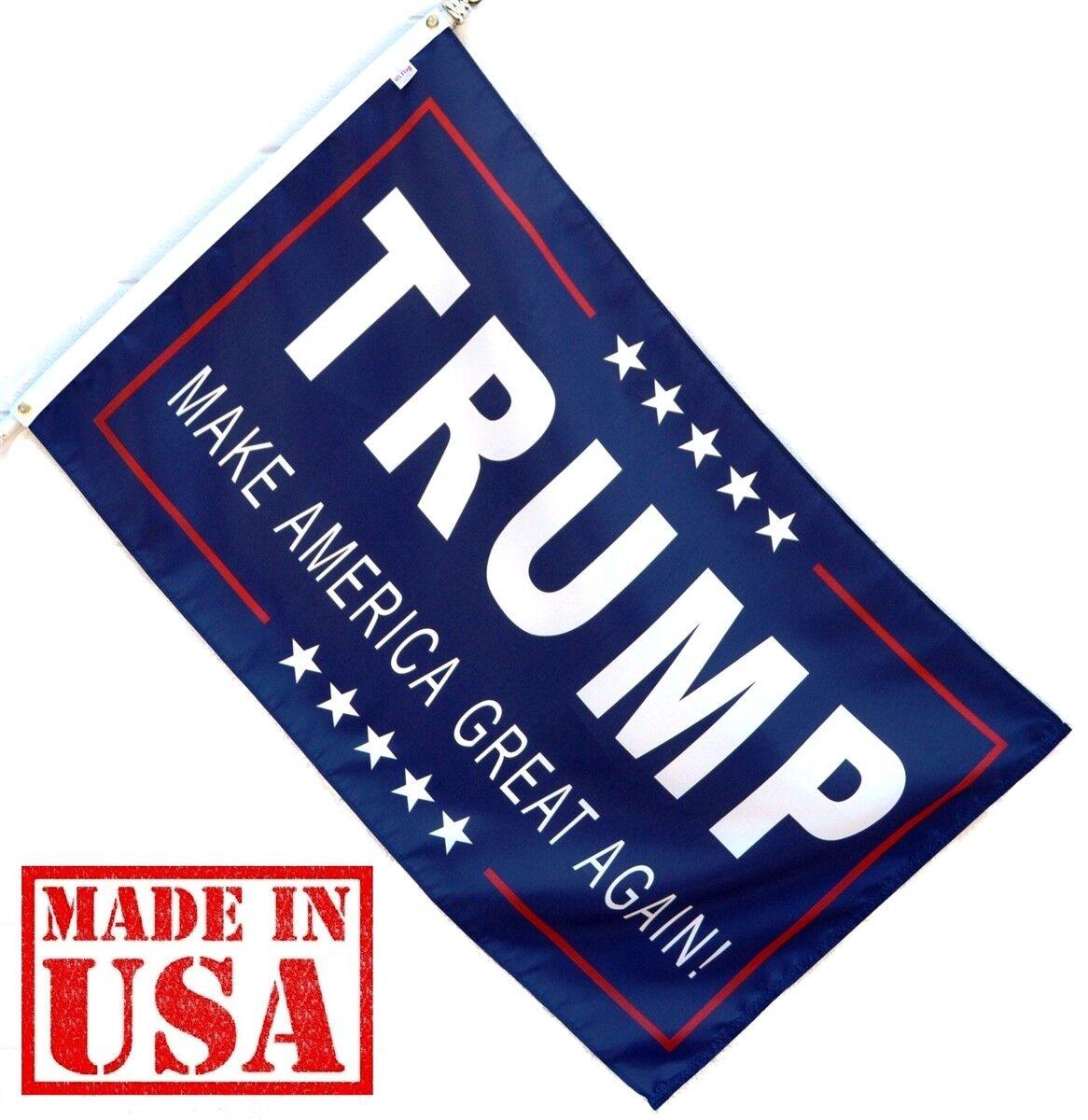 Trump Flag Make America Great Again – Donald For USA President USA Seller Décor