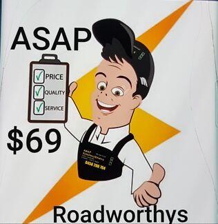 Mobile Roadworthys Trailers - Caravans - Cars Safety certificates Brisbane City Brisbane North West Preview