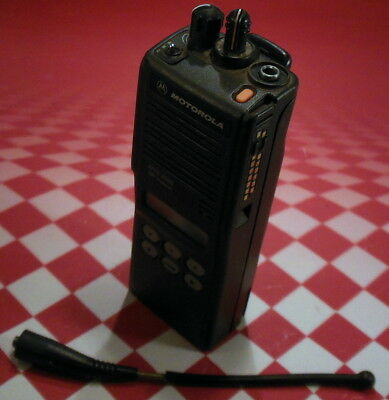 Motorola H01ucf6pw1bn Mts2000 Handie Talkie 800 Mhz Radio Wflashport