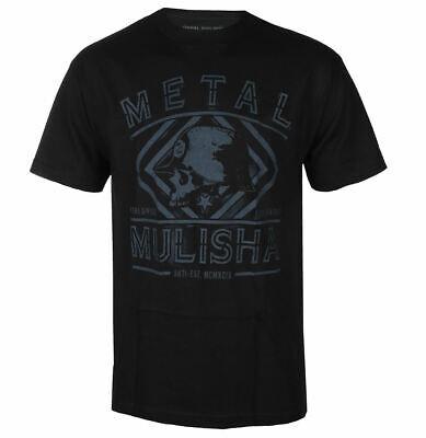 Metal Mulisha Men's Spray Short Sleeve T Shirt Black Size -