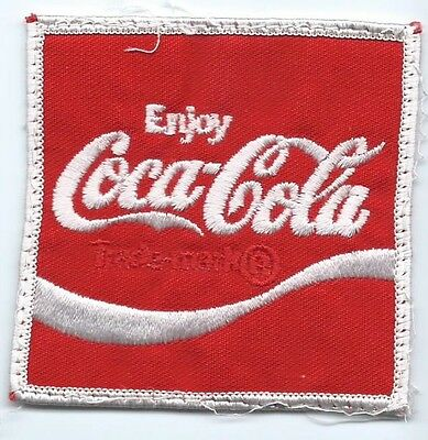 Coca-Cola Driver patch 2-7/8 X 2-7/8