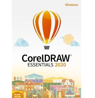 COREL CorelDRAW Essentials 2020 - WINDOWS - DEUTSCH  - (ESD) / KEY