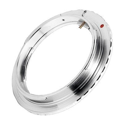 Quality Olympus OM Lens to Canon EOS Mount Adapter (fits all EOS range cameras) usato  Spedire a Italy