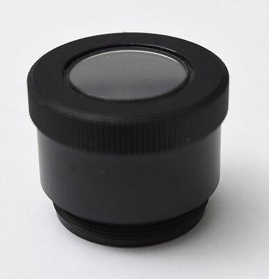 Nikon 25mm Cfi Mirror Objective Fluorescence Shutter Eclipse Microscope