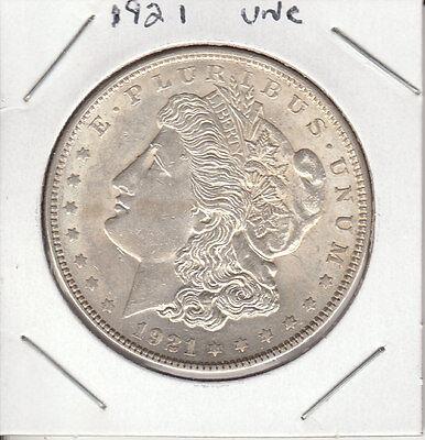 """1921 P MORGAN SILVER DOLLAR. 90% SILVER. """"BEAUTIFUL COIN"""" SEE PHOTOS"""