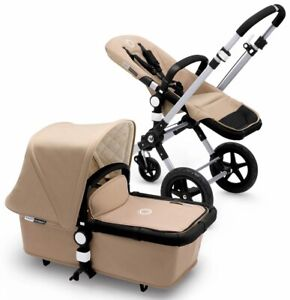 Bugaboo Cameleon 3 Stroller, Sand, with adapters
