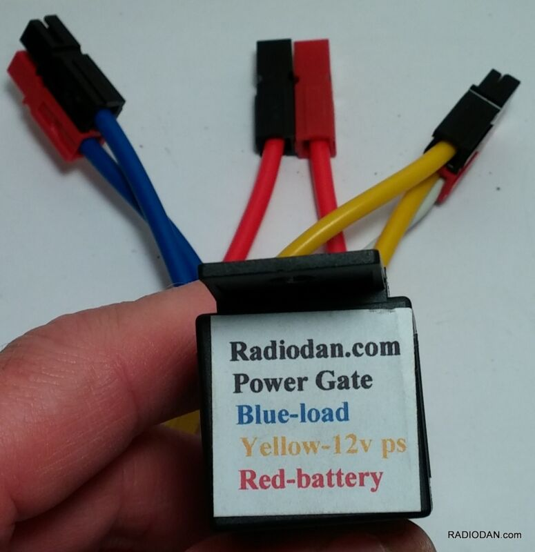 GO KIT Power Gate Battery Backup DC Switching module Power Pole Amateur Radio