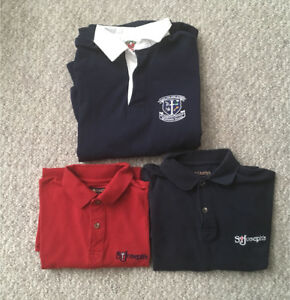 St. Joes School Uniforms ( med and large )