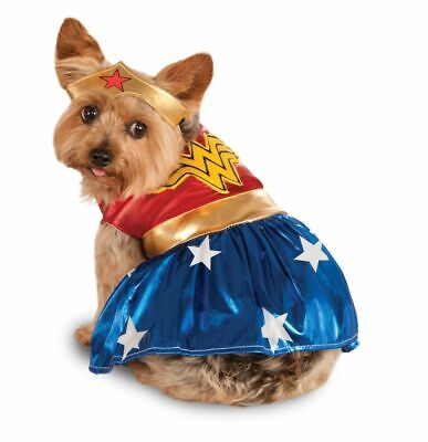 Rubies Wonder Woman Pet Costume Meduim - Wonder Woman Pet Costume